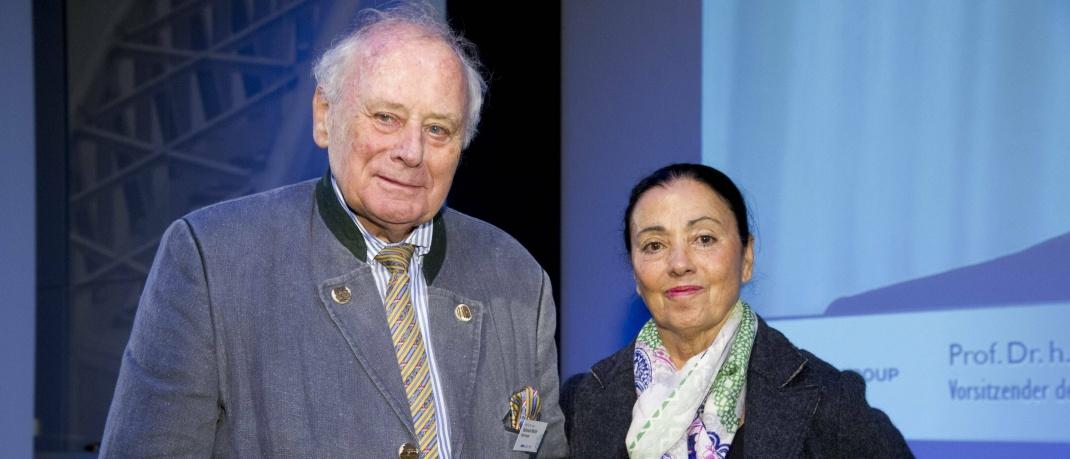 Reinhold Würth mit Ehefrau Carmen: Der Unternehmer machte aus seinem Schrauben-Handelsunternehmen einen internationalen Marktführer