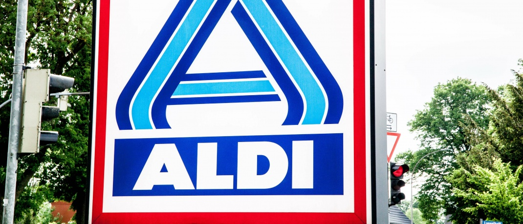Aldi-Logo: Theo Albrecht Jr. ist Miteigentümer von Aldi Nord.