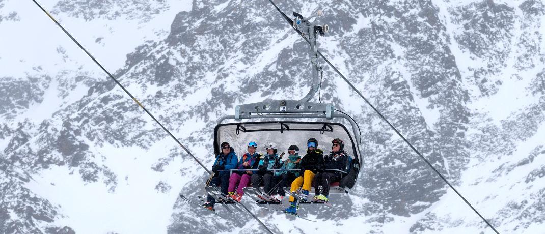Skilift im Piztal in Österreich: Hoch hinaus ging es bei den Euro-Staatsanleihen im vergangenen Jahr auch für Österreich – insgesamt aber Platz 8 im Negativ-Ranking.