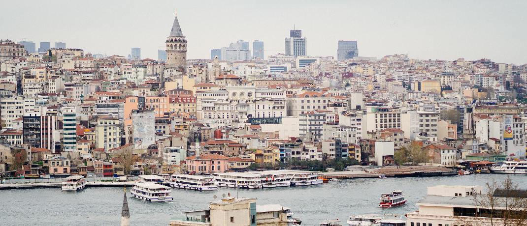 Blick auf Istanbul: Im vergangenen Jahr schwankte der Kurs der Türkischen Lira stark.