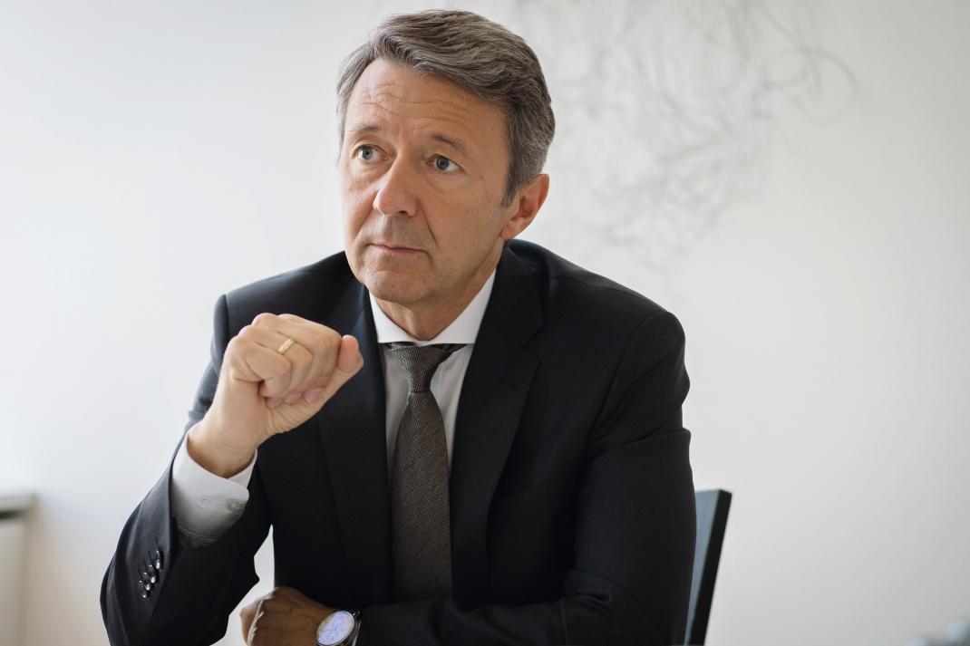 Frank Kalter, Leiter Vertriebsmanagement & Marketing bei der Deka