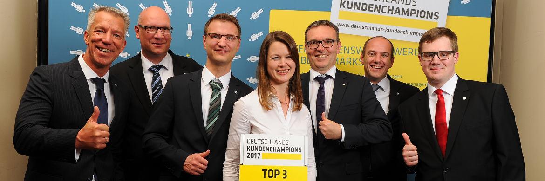 Die Bankhaus August Lenz & Co. AG belegt Platz 3 (B2C-Geschäft) in der Größenkategorie der Firmen mit 50 bis 499 Mitarbeitern.