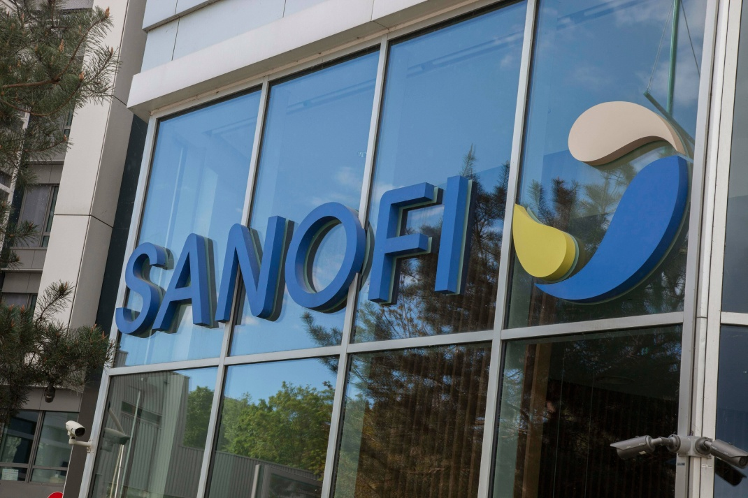 Hauptquartier des Pharmakonzerns Sanofi in Gentilly
