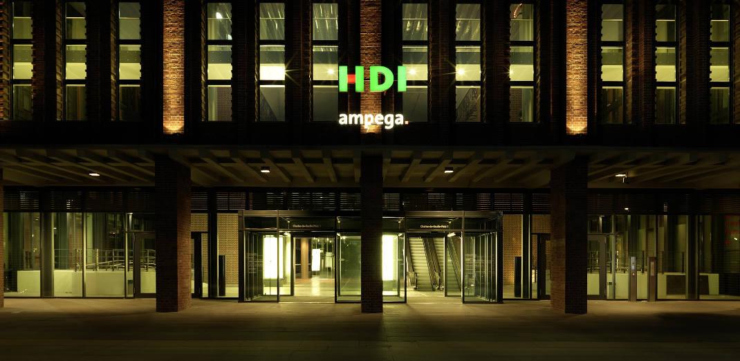 Zentrale der HDI in Hannover: 56,6 Prozent treue Kunden reichen für den neunten Platz.