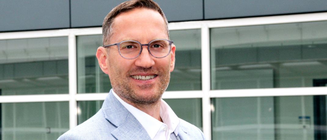 Maximilian Beck ist Vorstand Ressort Lebensversicherung und Exklusivvertrieb der Basler.