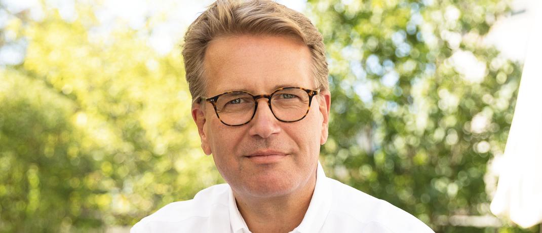 Martin Gräfer ist Vorstand der Versicherungsgruppe die Bayerische.