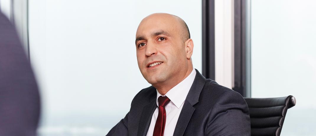 Zouhair Haddou-Temsamani ist Hauptabteilungsleiter Vertriebs- und Produktmanagement national bei der Arag.