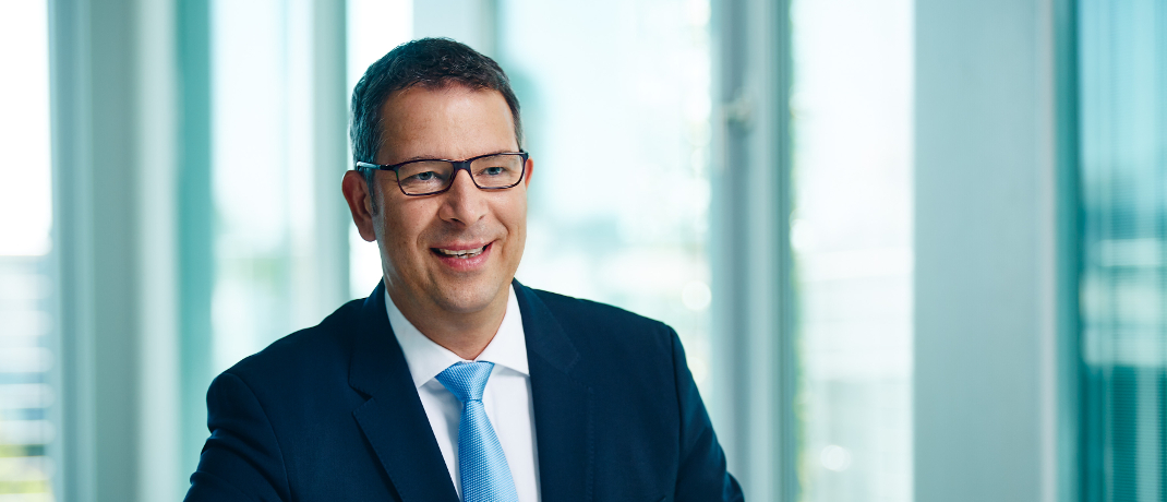 Norbert Piechowiak, Geschäftsführer von Helvetia Leben Maklerservice