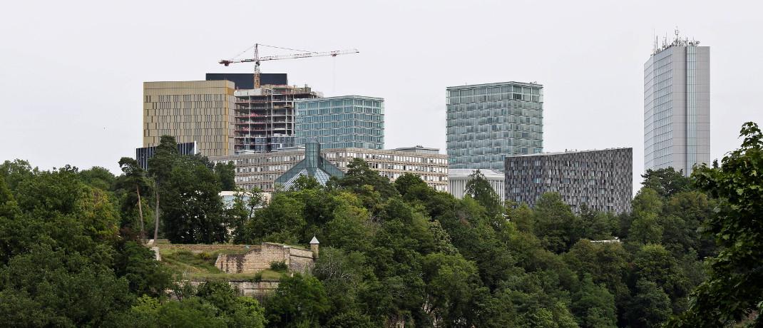 Wolkenkratzer in Luxemburg: Dort hat die B2B-Fondsplattform Attrax ihren Sitz.