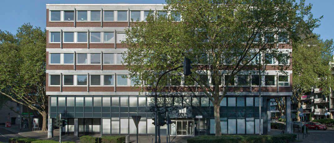 Gebäude der OVB-Hauptverwaltung in Köln