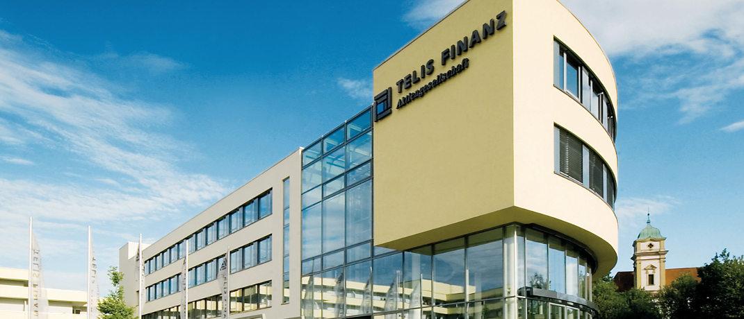 Zentrale der Telis Finanz in Regensburg