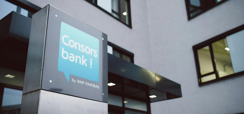 Die Consorsbank-Zentrale in Nürnberg