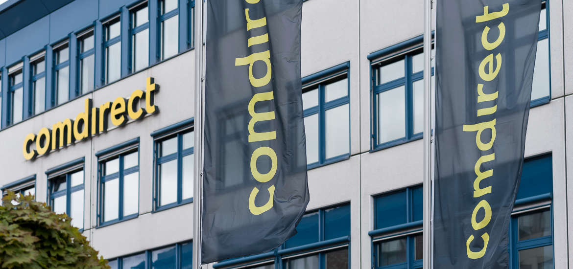 Zentrale der Comdirect Bank in Quickborn