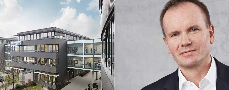 Wirecard-Firmensitz im bayerischen Aschheim, Wirecard-Chef Markus Braun.