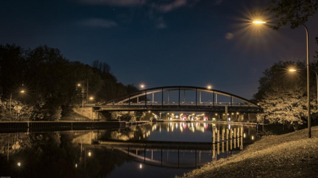 Kanalbrücke in Oberhausen