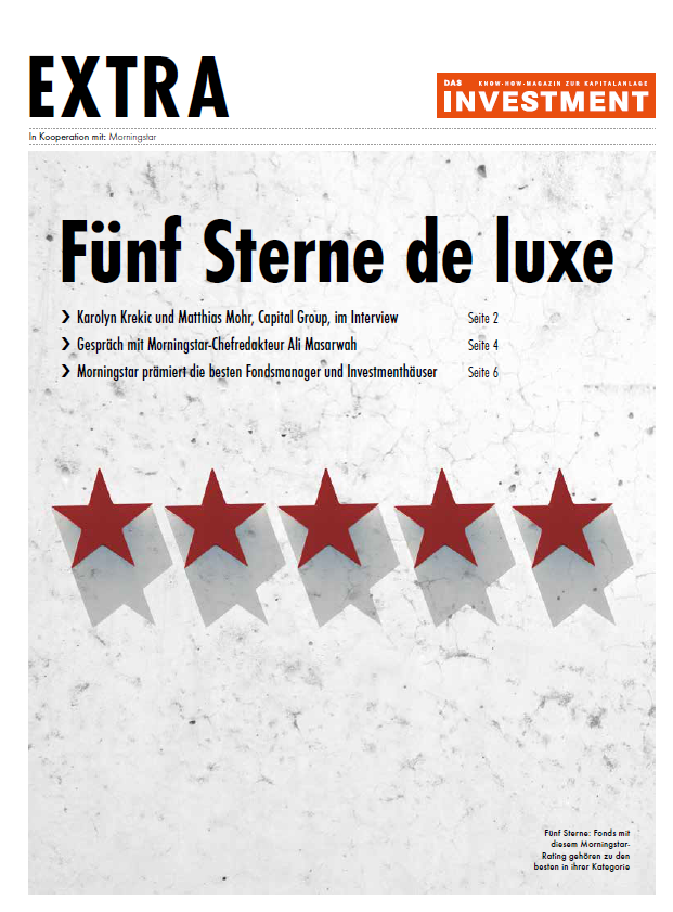 Fünf Sterne de luxe