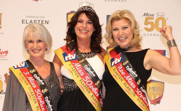 Deutschlands schönste Frauen über 50: Eva Offenbeck, Kerstin Marie Huth-Rauscher und Anja Kern (von links). Foto: mgc-foto.de
