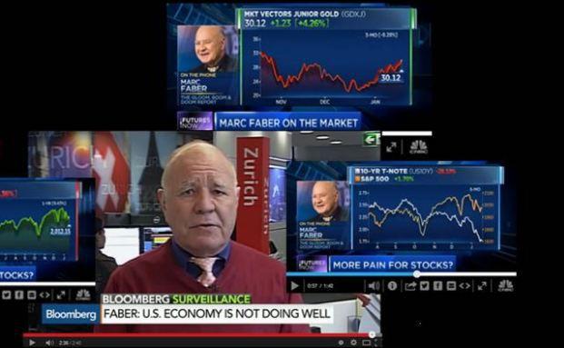 Screenshot von Marc Fabers Website Gloomboomdoom.com