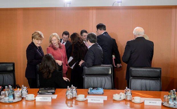 Ein Morgen im Bundeskabinett: Am heutigen Mittwoch verabschiedete die Bundesregierung den Entwurf für das Investmentsteuer-Reformgesetz. Foto: Bundesregierung.de