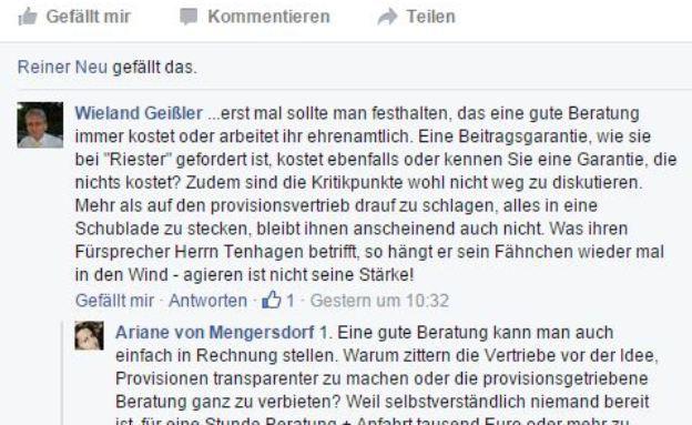 """""""Ein Mehmet Göker hat das sehr schnell verstanden"""": Das sagen Berater zur Fairr-Riester und Tenhagen-Diskussion"""