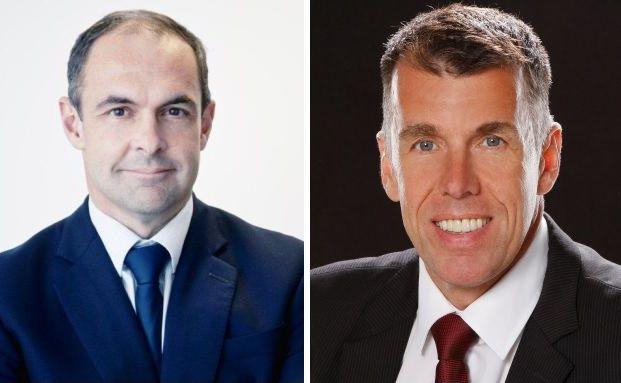 Georges Lequime und Joachim Berlenbach (v. li.), Berater des Earth Gold Fund UI