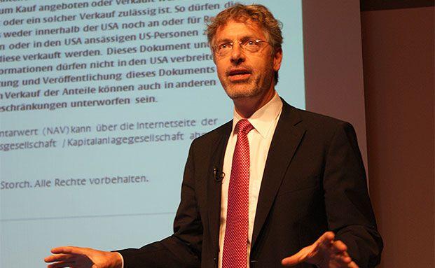 Star-Gastredner Philipp Vorndran von Flossbach von Storch