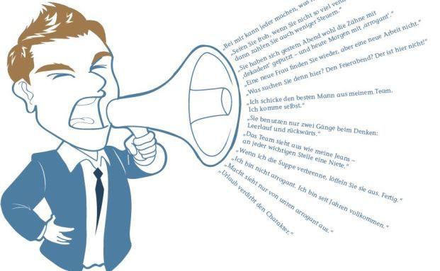Massiver Druck aus der Chefetage: Viele AO-Vermittler kritisieren das Führungsverhalten ihrer Vorgesetzten. Illustration: Indomercy / Fotolia