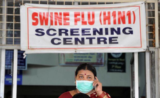 Pandemien wie die Schweinegrippe machen den<br>Versicherungen am meisten Sorgen. Foto: Getty