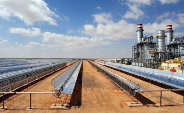 Solarkraftwerk in Marokko. Solarenergie ist häufig Bestandteil der SRI-Fonds. Foto: Getty Images