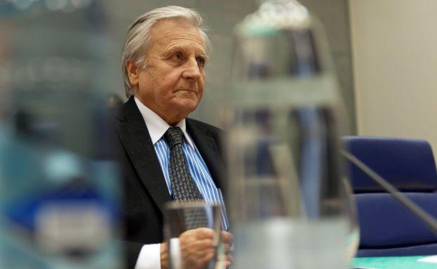 H&auml;lt die Zinsen in der Eurozone niedrig:<br>EZB-Chef Jean-Claude Trichet. Foto: Getty