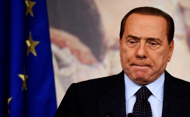 Italiens Noch-Staatschef Silvio Berlusconi, Foto: Getty Images