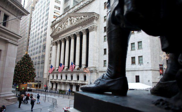 Wall Street: US-Marktdaten &uuml;berzeugten zuletzt, daher <br> nehmen Verm&ouml;gensverwalter ihre Gewinne aus US-Titeln mit <br> Quelle: Getty Images