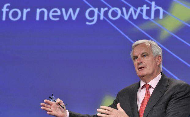 Bringt das EU-Projekt Solvency II voran: Michel Barnier,<br>EU-Kommisssar f&uuml;r den europ&auml;ischen Binnenmarkt.<br>Foto: Getty Images