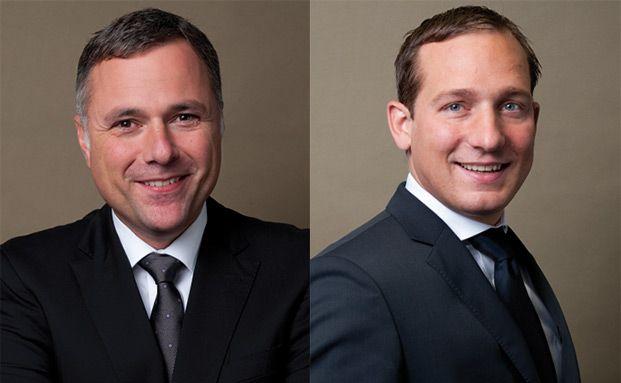 Portfolio Manager Marcel Fritsch (l.) und Stefan Blum
