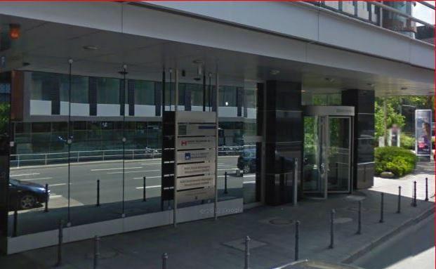 AXA-Firmensitz in Frankfurt