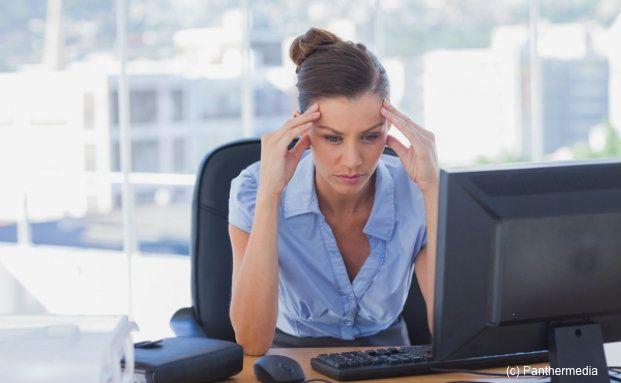 Stress am Arbeitsplatz: Immer mehr Berufstätige werden wegen psychischer Probleme krankgeschrieben. Foto: Panthermedia