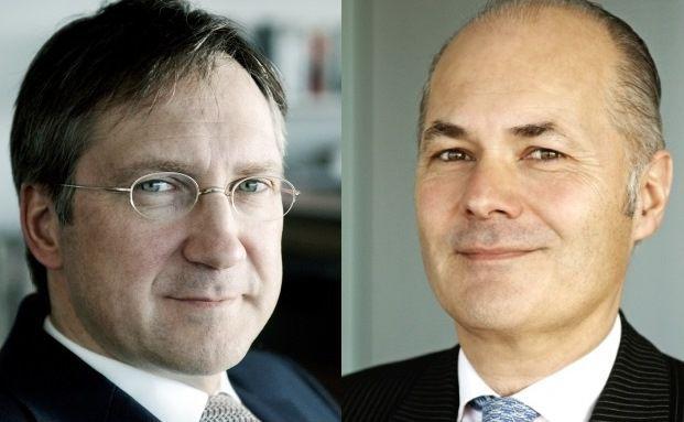 Bert Flossbach (li.) und Kurt von Storch, Gründer und Vorstände der Flossbach von Storch AG
