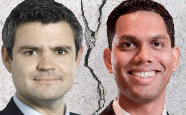 James Bannan (links), Partner Coeli Asset Management und Manager des Coeli Frontier Markets versus Jalil Rasheed, Manager des Invesco Asean Equity Fund