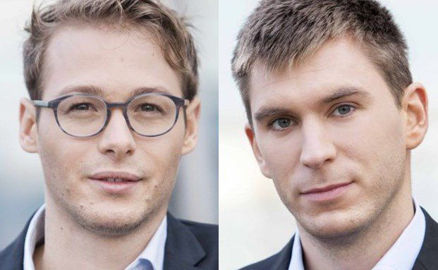 Nicolas Schmidlin und Marc Profitlich