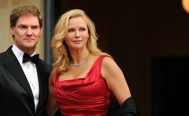 Schauspielerin Veronica Ferres und Milliardär Carsten Maschmeyer haben am Samstag geheiratet. Foto: Getty Images