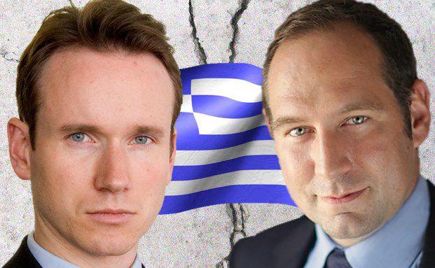 Anderer Meinung in Sachen griechische Aktien: Tom Wilson (links), Manager des Schroder Emerging Europe, versus Francois Gobron, Manager des Generali European Recovery Equity