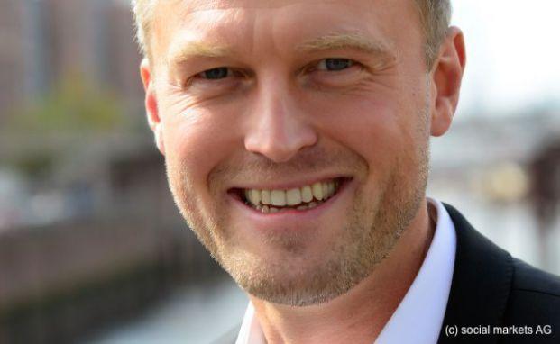 Rainer Demski, Geschäftsführer von Social Marktes