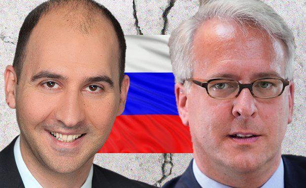 Aristoteles Damianidis, Manager des UBS Bond Emerging Europe (l.) und Georg Graf von Wallwitz, Manager des Phaidros Fund Balanced