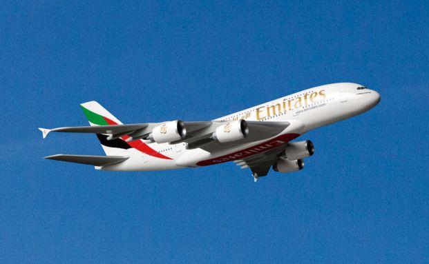 Airbus-A380: Das Flugzeug, in das der Fonds investiert, ist an Emirates vermietet.