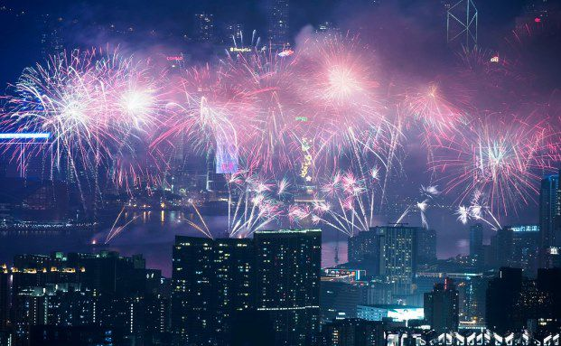 Neujahrsfeier in Hong Kong / Foto: Lam Yik Fei/Getty Images