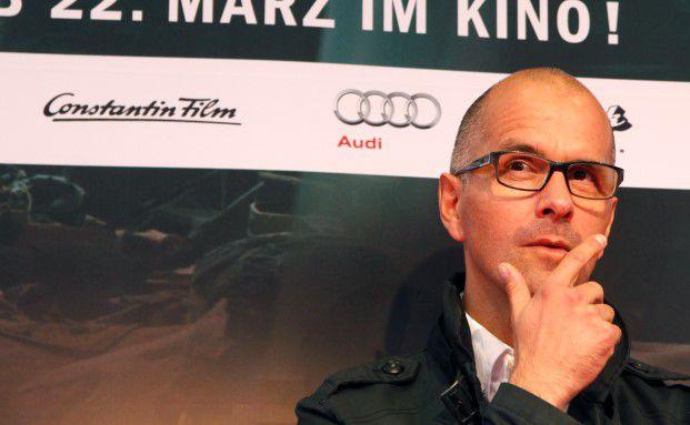 Schauspieler Christoph Maria Herbst, hier bei einer Filmpremiere in Frankfurt am Main, spielt Stromberg. Foto: Ralph Orlowski - Getty Images for Constantin Film
