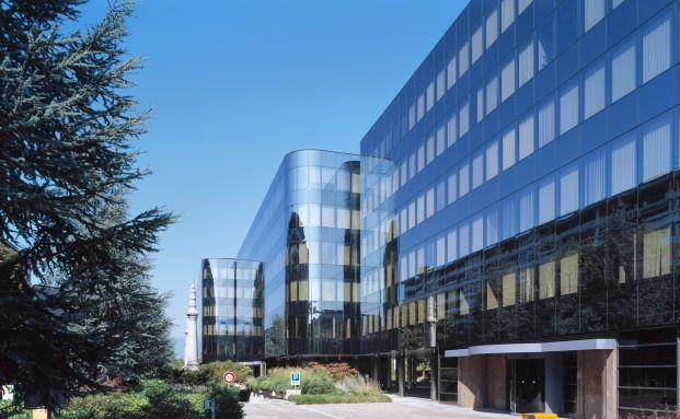 Firmensitz von Lombard Odier Investment Managers in Genf, Schweiz