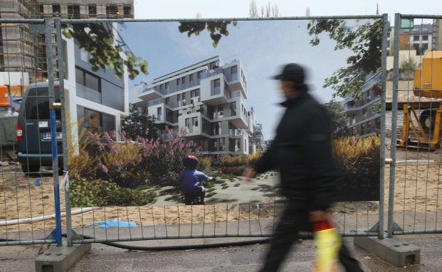 Wohnungsbau in Berlin: Grüne fordern schnelle Umsetzung. Foto: Getty Images