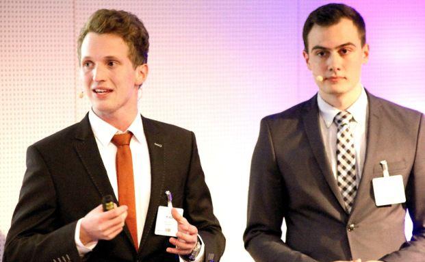 Julius Kretz und Dominik Vollrath (rechts, Foto: Oliver Lepold)