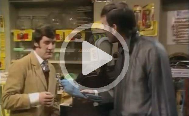 Monty-Python-Mitglieder Michael Palin, John Cleese (von links)